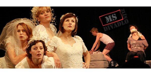 Dvě vstupenky na divadelní komedii Ženy