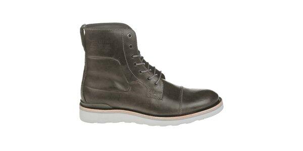 Pánské ocelově šedé boty G-Star