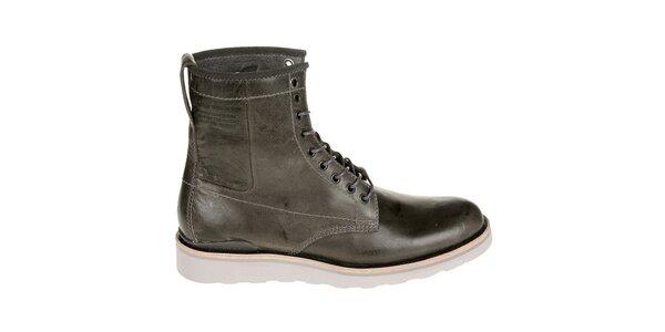 Pánské tmavě hnědé boty G-Star