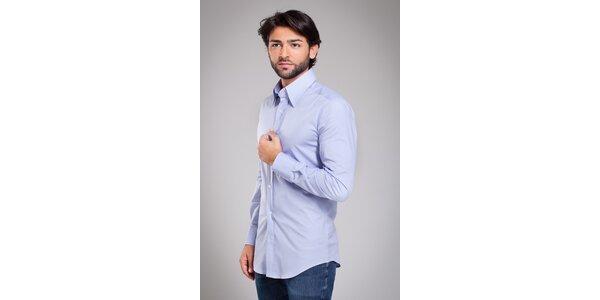 Pánská světle modrá košile Dolce & Gabbana