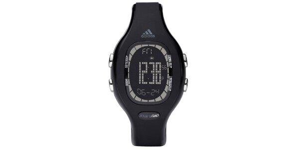 Unisexové oválné černé hodinky Adidas