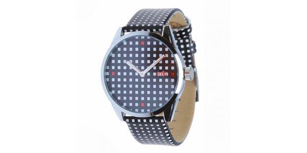 Dámské černo-modré hodinky EDC by Esprit