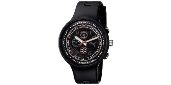 Pánské plastové černé hodinky Adidas
