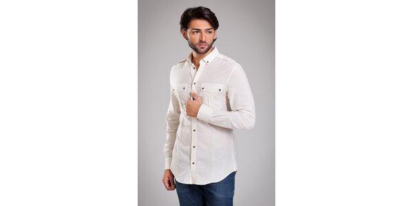 Pánská béžová košile Dolce & Gabbana