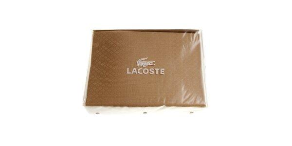 Béžový set ložního prádla Lacoste v provedení bavlněný satén