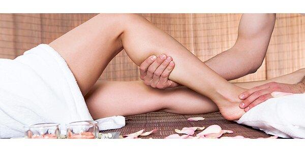 Masáž dolních končetin a hýždí