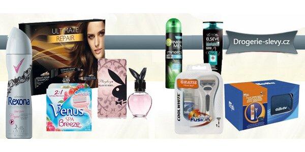 Známé značky kosmetiky a drogerie s až 50% slevou