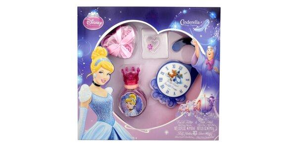 Disney Princezny, Popelka dárková sada - toaletní voda 30 ml, Houbička, Mýdlové…