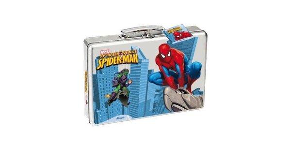 Spiderman dárková sada - sprchový gel + toaletní voda 50 ml + kufřík