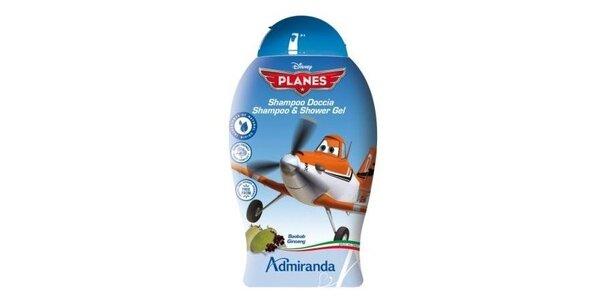 Letadla sprchový gel 250ml s baobabem a ženšenem