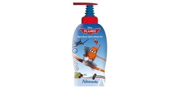 Letadla sprchový gel a pěna do koupele 2v1, 1L s baobabem a ženšenem