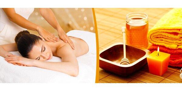 Masáž se zábalem z mrtvého moře nebo medová masáž v délce 60 minut