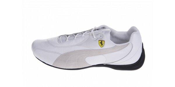 2a0ec9fb1b Pánské bílé tenisky Puma Ferrari