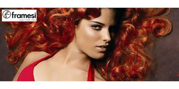 Nový účes a péče luxusní vlasovou kosmetikou