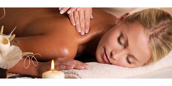 Hodina masáže - relaxační, voňavá nebo sportovní