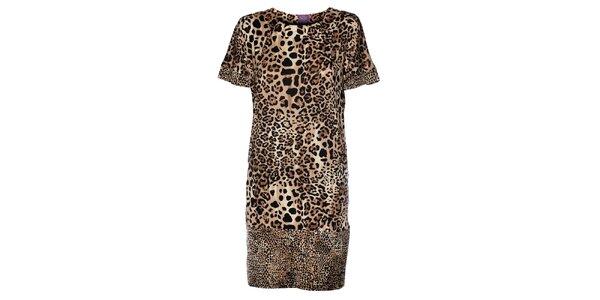 Dámské leopardí šaty Hope