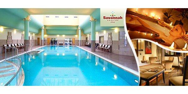 Přepychová dovolená pro dva v hotelu Savannah****