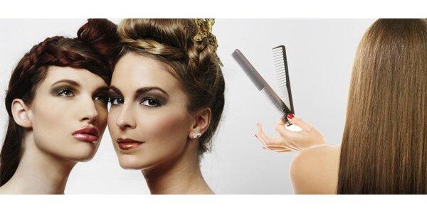 Kompletní střih vlasů včetně péče a stylingu