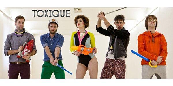 Koncert Toxique v klubu Melodka