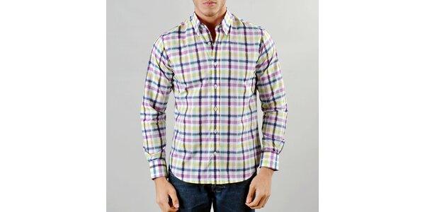 Pánská barevná košile Marcel Massimo e8cbc02ac4