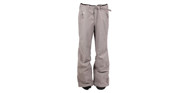 Dámské béžovo-šedé kalhoty na snb nebo na lyže O'Neill