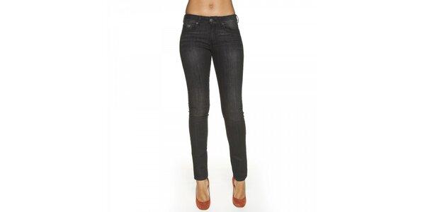 Dámské šedé skinny kalhoty Lois