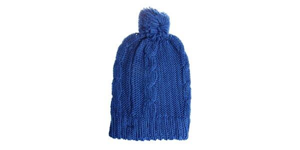 Dámský zářivě modrý kulich Fraas
