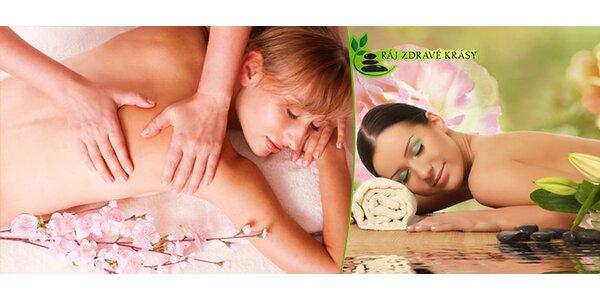 Havajská masáž Lomi-Lomi v délce 90 minut - perla mezi masážemi