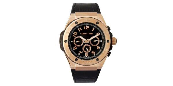 0de1390e8ad Pánské hodinky Cerruti 1881 s analogovým ciferníkem ve zlaté barvě