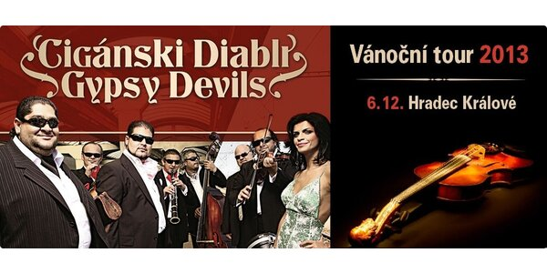 Cigánski Diabli – Vánoční tour 2013