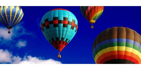 Letenka na let balonem s Českou vzduchoplaveckou společností