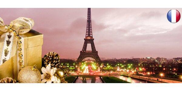 Víkendový letecký zájezd do adventní Paříže včetně ubytování
