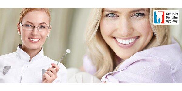 Komplexní a důkladná dentální hygiena (60 min)