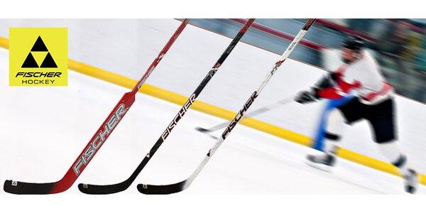Kvalitní hokejka Fischer – výběr ze 3 druhů