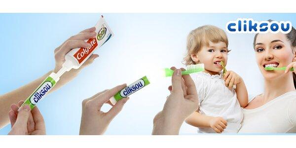 Plnící zubní kartáček Cliksou (2 nebo 5 kusů)