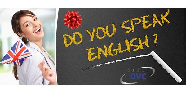 Angličtina s rodilými mluvčími pod stromeček