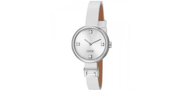 Dámské bílé minimalistické hodinky Esprit