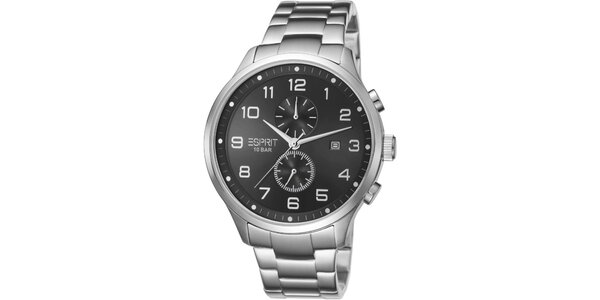 Pánské stříbrné hodinky Esprit s chronografem