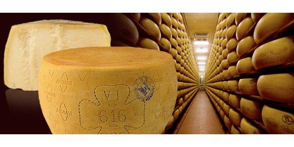 0,5 kg pravého italského parmezánu Grana Padano