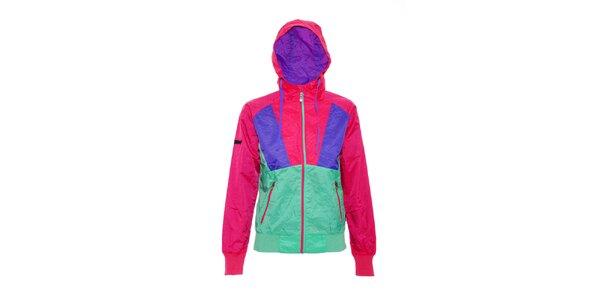 Dámská streetová bunda značky Nugget v pestrých barvách