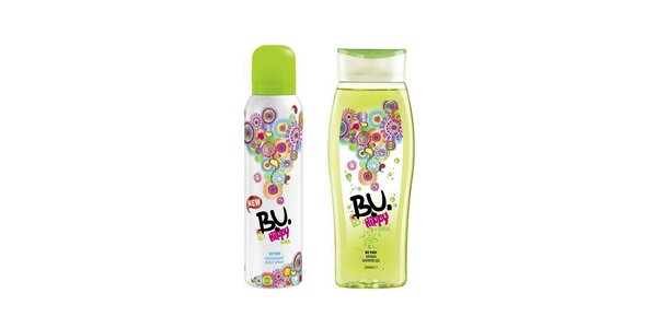 BU Hippy Soul deosprej 150ml+sprchový gel 250ml