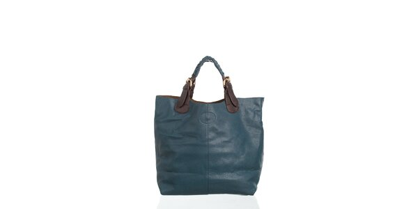 Dámská temně modrá kabelka Moow
