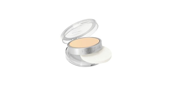 Loreal True Match Powder W3 Golden Beige - kompaktní pudr 9g