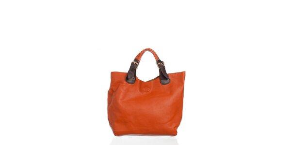 Dámská oranžová kabelka Moow