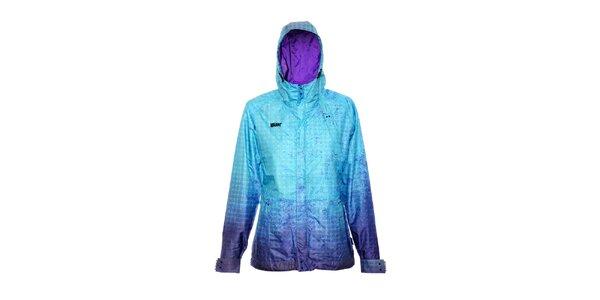 Dámská streetová bunda značky Nugget v tyrkysové barvě