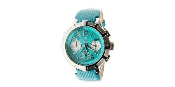 Dámské tyrkysově modré hodinky Royal London