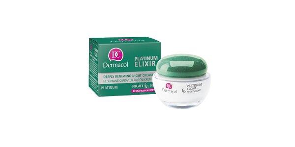 Dermacol Platinum Elixir hloubkově obnovující noční krém 50ml