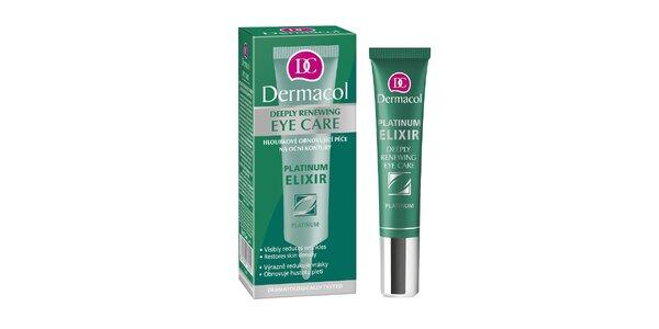 Dermacol Platinum Elixir hloubkově obnovující oční krém 15ml