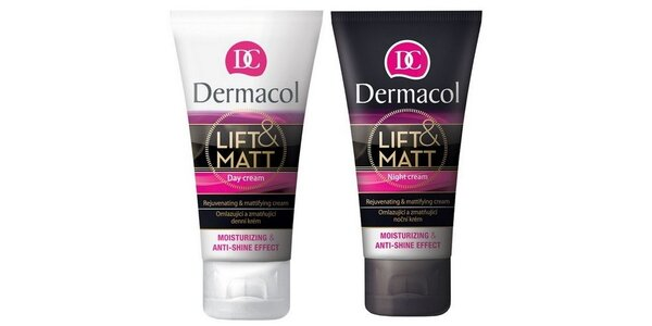 Dermacol Lift and matt denní krém 50ml+Lift and matt noční krém 50ml