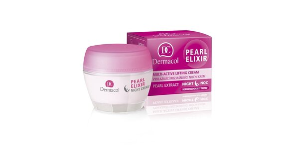 Dermacol Pearl Elixir - vyhlazující rozjasňující noční krém 50ml